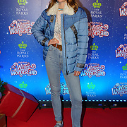 London, England, UK. 16th November 2017. Charlotte attend the VIP launch of Hyde Park Winter Wonderland 2017 for a preview. tomorrow is opening for the public