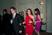 KELLY BROOK; DANNY CIPRIANI, Dinner to mark 50 years with Vogue for David Bailey, hosted by Alexandra Shulman. Claridge's. London. 11 May 2010