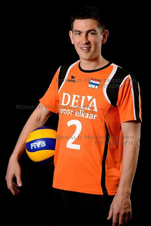25-04-2013 VOLLEYBAL: NEDERLANDS MANNEN VOLLEYBALTEAM: ROTTERDAM<br /> Selectie Oranje mannen seizoen 2013-2014 / Nico Freriks <br /> ©2013-FotoHoogendoorn.nl