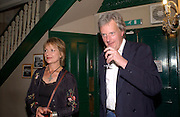 Ivor and Caroline Windsor, Planet Potato, Bush Hall, 310 Uxbridge Rd. 17 June 2004. ONE TIME USE ONLY - DO NOT ARCHIVE  © Copyright Photograph by Dafydd Jones 66 Stockwell Park Rd. London SW9 0DA Tel 020 7733 0108 www.dafjones.com