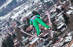30.01.2016, Normal Hill Indiviual, Oberstdorf, GER, FIS Weltcup Ski Sprung Ladis, Bewerb, im Bild Taylor Henrich (CAN) // Taylor Henrich of Canada during her Competition Jump of FIS Ski Jumping World Cup Ladis at the Normal Hill Indiviual, Oberstdorf, Germany on 2016/01/30. EXPA Pictures © 2016, PhotoCredit: EXPA/ Peter Rinderer