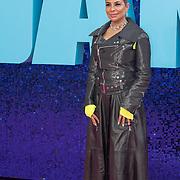 Shobna Gulati  attended 'Everybody's Talking About Jamie' film premiere at Royal Festival Hall, London, UK. 13 September 2021