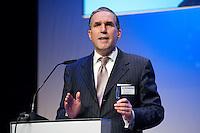 26 FEB 2009, BERLIN/GERMANY:<br /> Prof. Dr. Burkhard Schwenker, CEO Roland Berger Strategy Consultants, haelt eine Rede, Preisverleihung des Best of European Business Awards, Franzoesische Botschaft<br /> IMAGE: 20090226-02-014