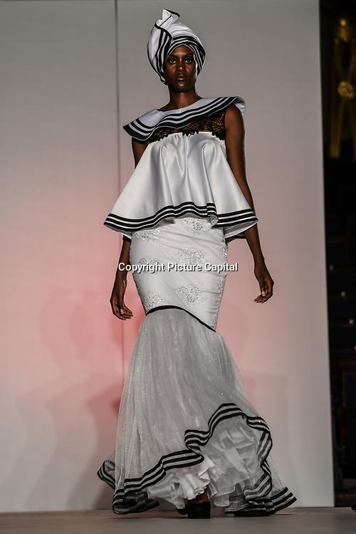 African Fashion Week London 2019 #AFWL2019 - backstage at Freemasons Hall on 9 August 2019, London, UK.