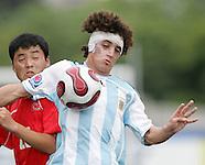 2007.07.06 U-20 World Cup: Argentina vs North Korea