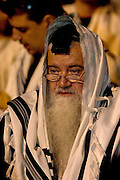 Praying with A talit and tfilin