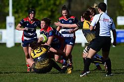 - Mandatory by-line: Dougie Allward/JMP - 26/03/2017 - RUGBY - Cleve RFC - Bristol, England - Bristol Ladies v Wasps Ladies - RFU Women's Premiership