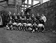 Irish Rugby Football Union, Ireland v Scotland, Five Nations, Landsdowne Road, Dublin, Ireland, Saturday 24th February, 1962,.24.2.1962, 2.24.1962,..Referee- N M Parkes, Rugby Football Union, ..Score- Ireland 6 - 20 Scotland, ..Scottish Team, ..K J F Scotland, Wearing number 15 Scottish jersey,  Full Back, Leicester Rugby Football Club, Leicester, England, ..R C Cowan, Wearing number 11 Scottish jersey,  Left Wing, Selkirk Rugby Football Club, Selkirk, Scotland, ..I H P Laughland, Wearing number 12 Scottish jersey, Left Centre, London Scottish Rugby Football Club, Surrey, England, ..J J McPartlin, Wearing number 13 Scottish jersey,  Right Centre, Oxford University Rugby Football Club, Oxford, England,..A R Smith, Wearing number 14 Scottish jersey, Captain of the Irish team,  Right Wing, Edinburgh University Rugby Football Club, Edinburgh, Scotland, ..G H Waddell, Wearing number 10 Scottish jersey,  Stand Off, London Scottish Rugby Football Club, Surrey, England, ..S Coughtrie, Wearing number 9 Scottish jersey,  Scrum Half, Edinburgh Academical Rugby Football Club, Edinburgh, Scotland, ..H F McLeod, Wearing number 1 Scottish jersey,  Forward,  Hawick Rugby Football Club, Hawick, Scotland, ..N S Bruce, Wearing number 2 Scottish jersey,  Forward, London Scottish Rugby Football Club, Surrey, England, ..R Steven , Wearing number 3 Scottish jersey, Forward, Edinburgh Wanderers Rugby Football Club, Edinburgh, Scotland, ..F H ten Bos, Wearing number 4 Scottish jersey,  Forward, London Scottish Rugby Football Club, Surrey, England, ..M J Campbell-Lamberton, Wearing number 5 Scottish jersey, Forward, Halifax Rugby Football Club, Yorkshire, England, ..R J C Glasgow, Wearing number 6 Scottish jersey,  Forward, Dunfermline Rugby Football Club, Fife, Scotland, ..J Douglas, Wearing number 8 Scottish jersey, Forward, Stewarts College Rugby Football Club, Edinburgh, Scotland, ..K I Ross, Wearing number 7 Scottish jersey, Forward, Boroughmuir Rugby Football Club, Edinburgh, Scotland,
