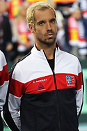 Richard Gasquet (French) during the 2018 Davis Cup, semi final tennis match between France and Spain on September 14, 2018 at Pierre Mauroy stadium in Lille, France - Photo Laurent Lairys / ProSportsImages / DPPI
