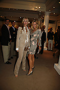 MELISSA ODABASH AND SIOBAN MAROUSH,  Whitechapel Exhibition Auction preview party.Artists from all over the world contribute to the Whitechapel's major auction, to raise funds towards the Gallery's expansion and future programmes.Sotheby's. 12 October 2006. . -DO NOT ARCHIVE-© Copyright Photograph by Dafydd Jones 66 Stockwell Park Rd. London SW9 0DA Tel 020 7733 0108 www.dafjones.com