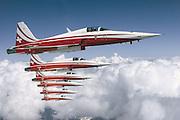 Patrouille Suisse F-5Es