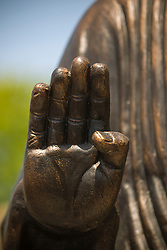 hand of a statue