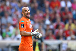 August 1, 2017 - Munich, Germany - Pepe Reina of Napoli durign the first Audi Cup football match between Atletico Madrid and SSC Napoli in the stadium in Munich, southern Germany, on August 1, 2017. (Credit Image: © Matteo Ciambelli/NurPhoto via ZUMA Press)