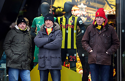 Watford fans outside the ground before the Premier League match at Vicarage Road, Watford.