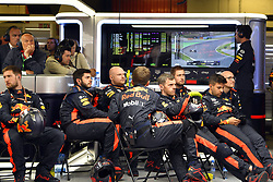 May 13, 2018 - Barcelona, Spain - Motorsports: FIA Formula One World Championship 2018, Grand Prix of Spain, .Mechanic of Aston Martin Red Bull Racing  (Credit Image: © Hoch Zwei via ZUMA Wire)