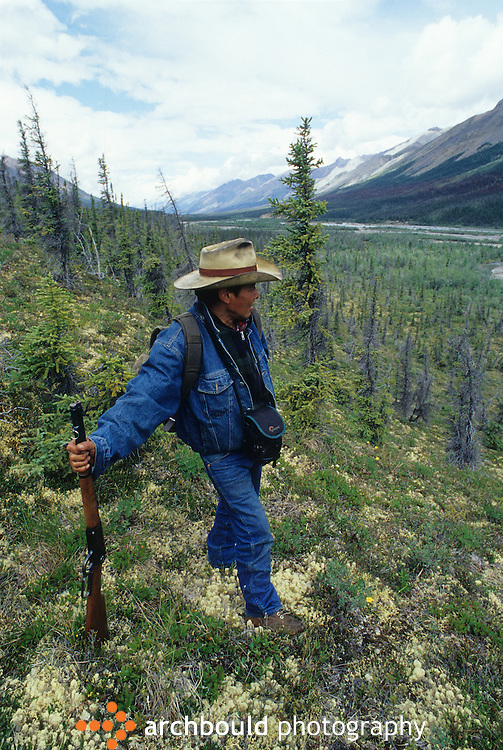 First Nation hunter