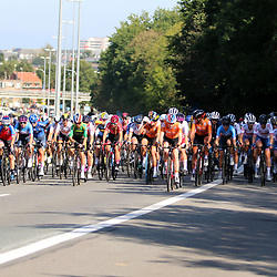LEUVEN (BEL): CYCLING: September 25th<br /> Peloton at a climb outside Leuven