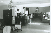 1970 Lobby of the Garden Court Apts.