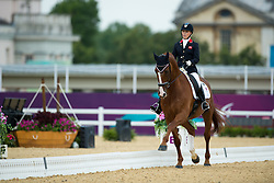 Sophie Wells (GBR) - Pinocchio<br /> Individual Championship Test - Grade Ia<br /> London 2012 Paralympic Games<br /> © Hippo Foto - Jon Stroud