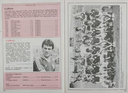 All Ireland Senior Hurling Championship - Final,.04.09.1983, 09.04.1983, 4th September 1983,.Kilkenny v Cork, .04091983AISHCF,.Kilkenny 2-14, Cork 2-12,.Galway Minor Team, .J Commins, M Killeen, P Dervan, S Treacy, P Brehony, P Malone, G Mcinerney, D Jennings, J J Broderick, T Monaghan, T Moloney, J Cooney, S Keane, A Cunningham (capt), P Higgins, Subs M Shiel for J J Broderick, G Elwood for P Higgins, N Brody for T Monaghan,