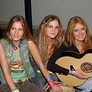 TMF awards 2004, Treble, Djem van Dijk, zus Nina van Dijk en Caroline Hoffman