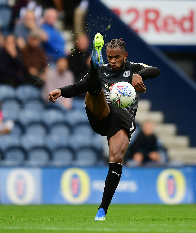 Reading's Leandro Bacuna<br /> <br /> Photographer Chris Vaughan/CameraSport<br /> <br /> The EFL Sky Bet Championship - Preston North End v Reading - Saturday 15th September 2018 - Deepdale - Preston<br /> <br /> World Copyright © 2018 CameraSport. All rights reserved. 43 Linden Ave. Countesthorpe. Leicester. England. LE8 5PG - Tel: +44 (0) 116 277 4147 - admin@camerasport.com - www.camerasport.com