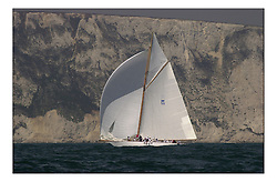 Americas Cup Jubilee, Marilee of the New York Yacht club...Marc Turner PFM Pictures