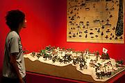 Fortaleza, CE - 22 de novembro 2010..Imagens diversas do centro de Fortaleza, capital do Ceara...Na foto maquete de Fortaleza no Museu do Ceara...Foto: Bruno Magalhaes / Nitro