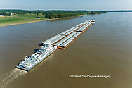 63807-01211 Barge on the Mississippi river near Thebes, IL