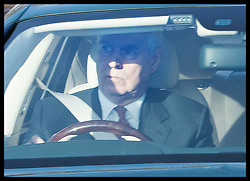 December 18, 2019, London, London, United Kingdom: Image licensed to i-Images Picture Agency. 18/12/2019. London, United Kingdom. Prince Andrew  arriving at  The Queen's Christmas Party at Buckingham Palace in London  (Credit Image: © Stephen Lock/i-Images via ZUMA Press)