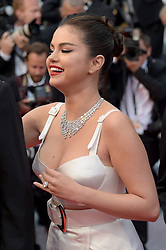 Selena Gomez attending the opening ceremony and premiere of The Dead Don't Die, during the 72nd Cannes Film Festival.