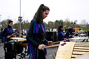 Shadow Indoor Percussion performs at Northern Kentucky University in Highland Heights, Kentucky on April 11, 2019.<br /> <br /> Beth Skogen Photography<br /> www.bethskogen.com