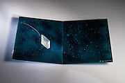 New work by glass artist Inge Panneels, of IDAGOS. The work willbe exhibitied at the National Glass Centre show 2015
