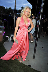 LADY KITTY SPENCER niece of the late Diana, Princess of Wales at the annual Serpentine Gallery Summer Party sponsored by Canvas TV  the new global arts TV network, held at the Serpentine Gallery, Kensington Gardens, London on 9th July 2009.