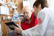 2018 March 07 - Assignment for Samsung to showcase their partnership with Nebraska Medicine, utilizing tech to help improve the patient experience.