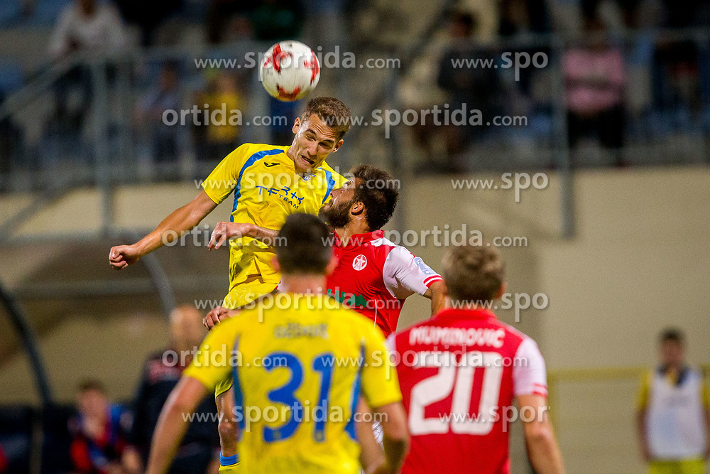 Jure Balkovec of NK Domzale during football match between NK Domžale and NK Aluminij in 6th Round of Prva liga Telekom Slovenije 2017/18, on August 20, 2017 in Sports park Domzale, Domzale. Photo by Ziga Zupan / Sportida