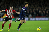 West Ham United's Felipe Anderson gets away from Sheffield United's John Lundstram<br /> <br /> Photographer Rich Linley/CameraSport<br /> <br /> The Premier League - Sheffield United v West Ham United - Friday 10th January 2020 - Bramall Lane - Sheffield <br /> <br /> World Copyright © 2020 CameraSport. All rights reserved. 43 Linden Ave. Countesthorpe. Leicester. England. LE8 5PG - Tel: +44 (0) 116 277 4147 - admin@camerasport.com - www.camerasport.com