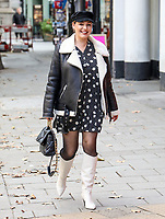 Kelly Brook, Global Radio Studios, London, UK, 07 October 2020, Photo by piQtured