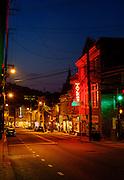 Dawn in historic Ellicott City, Maryland. Shot on a Fuji X-Pro 2.