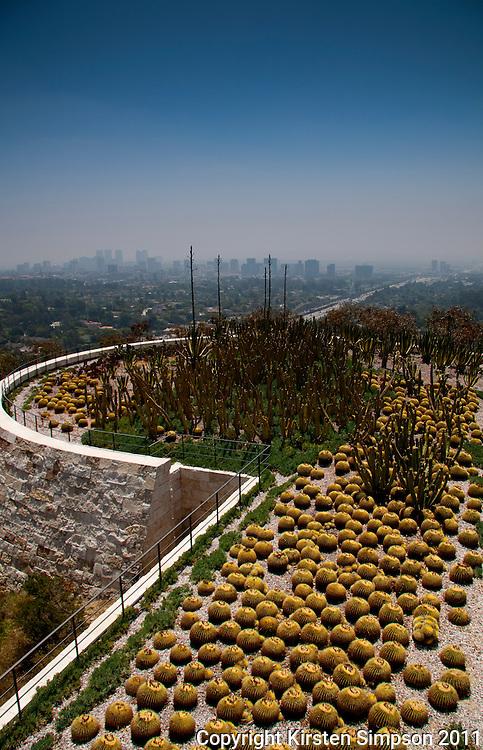 The Getty Centre Gardens in LA