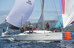 Clyde Cruising Club's Scottish Series 2019<br /> 24th-27th May, Tarbert, Loch Fyne, Scotland<br /> <br /> Day 1, GBR2187L, The Black Prince, CCC, First35<br /> <br /> Credit: Marc Turner / CCC