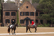 Riders in the first fox hunt of the season at Middleton Place Plantation December 1, 2013 in Charleston, SC.