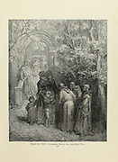 Gathering means for the Holy War Plate XCIV from the book Story of the crusades. with a magnificent gallery of one hundred full-page engravings by the world-renowned artist, Gustave Doré [Gustave Dore] by Boyd, James P. (James Penny), 1836-1910. Published in Philadelphia 1892
