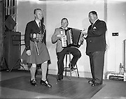 Rory O'Connor, Dancer in Take the Floor.11/04/1957