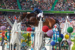 Rolf Goran Bengtsson, (SWE), Casall Ask - World Champions, - Second Round Team Competition - Alltech FEI World Equestrian Games™ 2014 - Normandy, France.<br /> © Hippo Foto Team - Leanjo De Koster<br /> 25/06/14