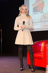 Pamela Anderson attends the 25th Paris Manga & Sci-Fi Show at Parc des Expositions Porte de Versailles on February 03, 2018 in Paris, France. Photo by Nasser Berzane/ABACAPRESS.COM