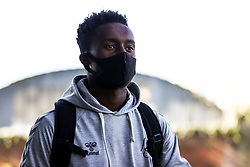 Steven Sessegnon of Bristol City arrives - Rogan/JMP - 27/09/2020 - Ashton Gate Stadium - Bristol, England - Bristol City v Sheffield Wednesday - Sky Bet Championship.