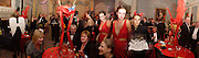 2 new grandmothers  sitting, Penny Mortimer on left,  Rosie Mortimer girl in red, Michaels Howells set designer on right Bright Young Things Royal European charity premiere party, Claridges, 28 September 2003. © Copyright Photograph by Dafydd Jones 66 Stockwell Park Rd. London SW9 0DA Tel 020 7733 0108 www.dafjones.com