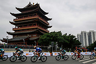 Rudiger Selig (GER - Bora - Hansgrohe), Pascal Ackermann (GER - Bora - Hansgrohe), Michael Schwarzmann (GER - Bora - Hansgrohe) during the Tour of Guangxi 2018, Stage 3, Nanning - Nanning (125,4 km) on October 18, 2018 in Nanning, China - photo Luca Bettini / BettiniPhoto / ProSportsImages / DPPI