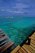 Ambergris Caye: San Pedro village.